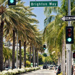 Stock Photo: Rodeo Drive during sunny day