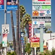 Stock Photo: Sunset Strip