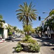 Rodeo Drive during sunny day — Stock Photo