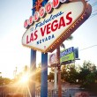 The Welcome to Fabulous Las Vegas sign — Stock Photo #23237602