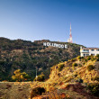 View of Hollywood sign — Stock Photo