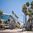 Hollywood Boulevard in Los Angeles — Stock Photo #23237964
