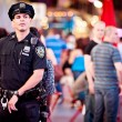 Stock Photo: NYPD Police Officer on Times square