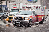Ambulance car in New York City — Stock Photo