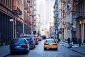 De wijk Soho in new york city — Stockfoto