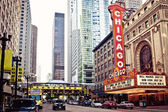Chicago theater — Stok fotoğraf