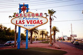 The Welcome to Fabulous Las Vegas sign — Zdjęcie stockowe