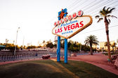 Welcome to fabulous las vegas-skylten — Stockfoto