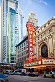 Chicago Theater in Chicago — Stok fotoğraf