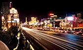 Strip de vegas dans la nuit — Photo