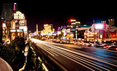 Vegas Strip at night — Zdjęcie stockowe