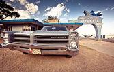 Motel blu rondine — Foto Stock