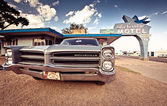 Blue Swallow Motel — Stock Photo