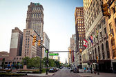 Downtown Detroit — Stock Photo