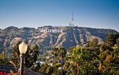Hollywood sign — Stock Photo