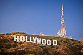 Weergave van hollywood sign — Stockfoto