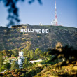 Hollywood sign - Stock Photo