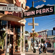 Stock Photo: Twin Peaks in SFrancisco