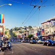Castro Street in San Francisco — Stock Photo
