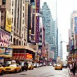 Times Square with Broadway Theaters — Stock Photo #23241288