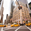 Yellow taxis in New York — Stock Photo #23241922