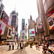 Times Square featured with Broadway Theaters — Stock Photo #23242016