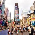 Times square, new york city — Stock fotografie