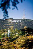 Hollywood sign — Foto Stock