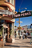 Twin Peaks in San Francisco — Stock Photo