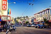 Castro Street in San Francisco — Stock Photo