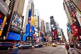 таймс-сквер с бродвейские театры — Стоковое фото