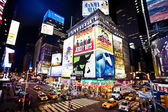 Times square a manhattan — Foto Stock