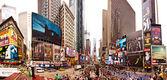 ニューヨーク市のタイムズスクエア — ストック写真