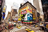 Times Square featured with Broadway Theaters — Photo