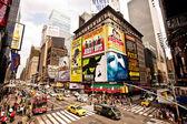 Times meydanı, broadway tiyatroları ile özellikli — Stok fotoğraf