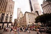 Plaza hotel in Manhattan — Stock Photo