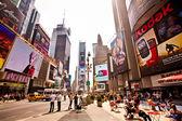Times square, caracterizado com teatros da broadway — Foto Stock