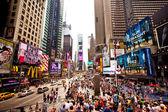 таймс-сквер в манхэттене — Стоковое фото