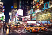 Times square em manhattan — Fotografia Stock