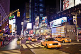 Times Square in Manhattan — Foto Stock