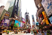 Times Square in Manhattan — Stockfoto