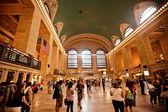 Interiér nádraží grand central — Stock fotografie