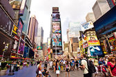 Times Square, New York City. — Stock Photo