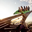 Stock Photo: Attractions on roof of Stratosphere hotel