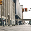 Stock Photo: Downtown Detroit