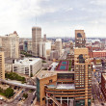Downtown Detroit — Stock Photo #24385715