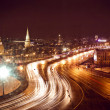Kremlin view at night — Stock Photo