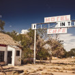 Abandoned restaraunt on Route 66 — Stock Photo