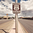 Route 66 sign — Stock Photo