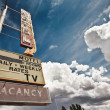 Old motel sign — Stock Photo #26921093